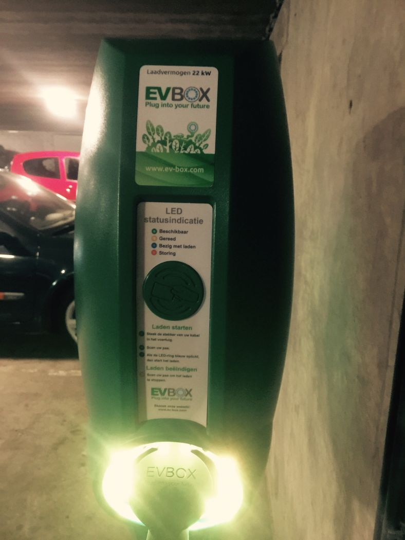 Visitors to Eekhoornnest can charge their electric cars